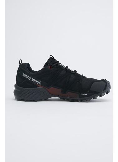 Tonny Black Siyah Kırmızı Unısex Trekkıng Ayakkabı Tb160 Siyah